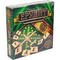 Игра настольная «Эрудит Premium» деревянные фишки (укр. яз. )