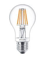 Лампа светодиодная декоративная Philips LED Fila Dim E27 7.5-70W 2700K 230V A60 CL, 929001228008