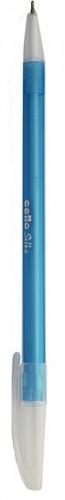 Ручка кулькова Cello SILКE синя