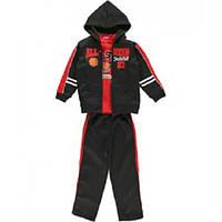 Черный спортивный костюм-тройка для мальчика USAthlete