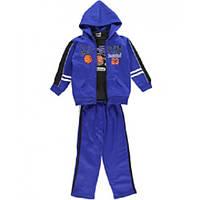 Синий спортивный костюм-тройка для мальчика USAthlete