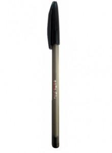 Ручка кулькова Cello SILКE чорна