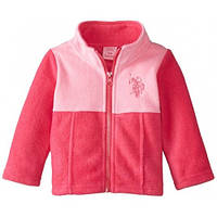 Флисовая кофта для девочки, US Polo Assn