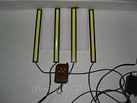 Стробоскопы - DRL - 17-4 белые с пультом д/у , фото 1