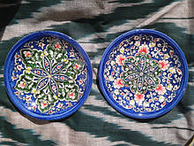 Посуда ручной работы. Узбекская керамика.