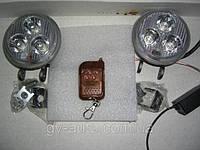 Стробоскопы  LED DB-2001 9W с пультом Д/У. Белый., фото 1