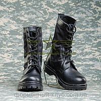 """Берцы летние """"НАТО"""" с черной тканевой вставкой Собственное производство"""
