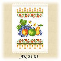 Заготовка спасского рушника для вышивания АК 25-02