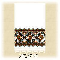 Заготовка традиционного рушника для вышивания АК 27-02