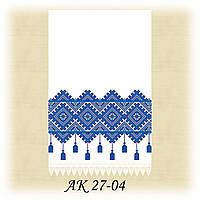 Заготовка традиционного рушника для вышивания АК 27-04