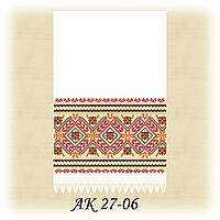 Заготовка традиционного рушника для вышивания АК 27-06