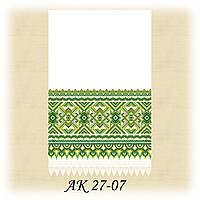Заготовка традиционного рушника для вышивания АК 27-07