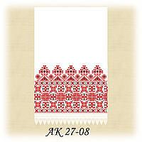 Заготовка традиционного рушника для вышивания АК 27-08