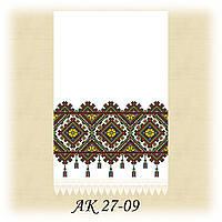 Заготовка традиционного рушника для вышивания АК 27-09