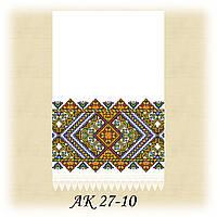 Заготовка традиционного рушника для вышивания АК 27-10