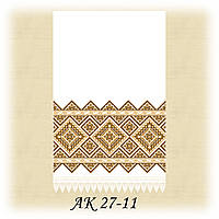 Заготовка традиционного рушника для вышивания АК 27-11