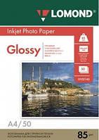 Бумага Lomond 85 г/м, глянец, NEW, А4 100 листов.
