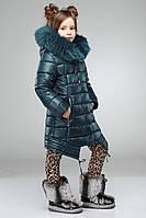 Куртка детская зимняя Kitty №2 Куртки для девочек зима