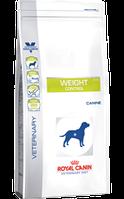 Корм сухой Роял Канин ветеринарная диета для собак Royal Canin Weight Control Canine 1.5 кг