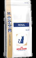 Корм сухой диета Роял Канин Ренал лечение болезни почек у котов Royal Canin Renal Feline 4 кг