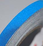 Авто світловідбиваюча стрічка 3M 45.7 m клейка синя декоративна плівка наклейка для тюнінгу скотч, фото 3