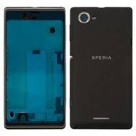 Корпус для мобильных телефонов Sony C2104 S36 Xperia L, C2105 S36h Xperia L, черный