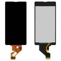 Дисплей для мобильного телефона Sony D5503 Xperia Z1 Compact Mini, черный, с сенсорным экраном, original (PRC)