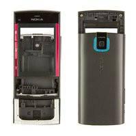 Корпус для мобильного телефона Nokia X3-00, high-copy, черный