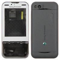 Корпус для мобильного телефона Sony Ericsson U100, high-copy, серый