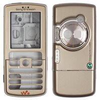 Корпус для мобильного телефона Sony Ericsson W700i, high-copy, золотистый