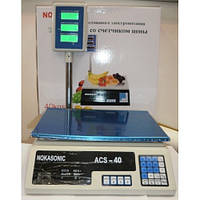 Торговые весы ACS 40 D1 Олимп