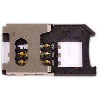 Коннектор SIM-карты для мобильных телефонов Siemens C65, C72, C75, CF62, CX65, CX70, M65, S65, SL65, SX1
