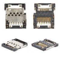 Коннектор карты памяти для мобильных телефонов Nokia 3109c, 3110c, 3500, 3610f, 3720c, 5500, 6555, 7373, 7500