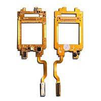 Шлейф для мобильного телефона Samsung E730, межплатный, с компонентами