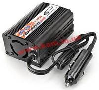 Автомобильный инвертор Gemix 12В постоянный ток на ~220-240В переменный ток, мощность 300В (INV-300)