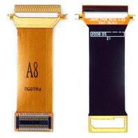 Шлейф для мобильных телефонов Samsung J600, J600E, межплатный, с компонентами