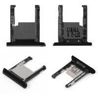 Держатель карты памяти для мобильного телефона Nokia 1520 Lumia, черный