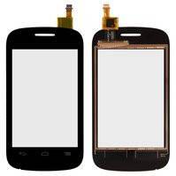 Сенсорный экран для мобильного телефона Alcatel One Touch 4015 POP C1 Dual Sim, черный