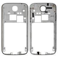 Средняя часть корпуса для мобильных телефонов Samsung I9500 Galaxy S4, I9505 Galaxy S4, серая