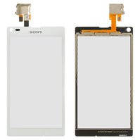 Сенсорный экран для мобильных телефонов Sony C2104 S36 Xperia L, C2105 S36h Xperia L, белый