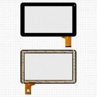 "Сенсорный экран для планшетов China-Tablet PC 9""; Allwinner A13, A20; Freelander PD50, PD60; VIA 8880; MID Android, 9"", 50 pin, емкостный, черный,"