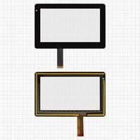 "Сенсорный экран для планшетов China-Tablet PC 7""; Onda V701, Vi10; Ritmix RMD-721; Explay Informer 701, Informer 702, Informer 703, 7"", 30 pin,"