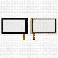 "Сенсорный экран для планшетов China-Tablet PC 7""; ViewSonic ViewPad VB734, 7"", 30 pin, емкостный, черный, (185*111 мм), #MT70223-V1/Q8-8/M170213"