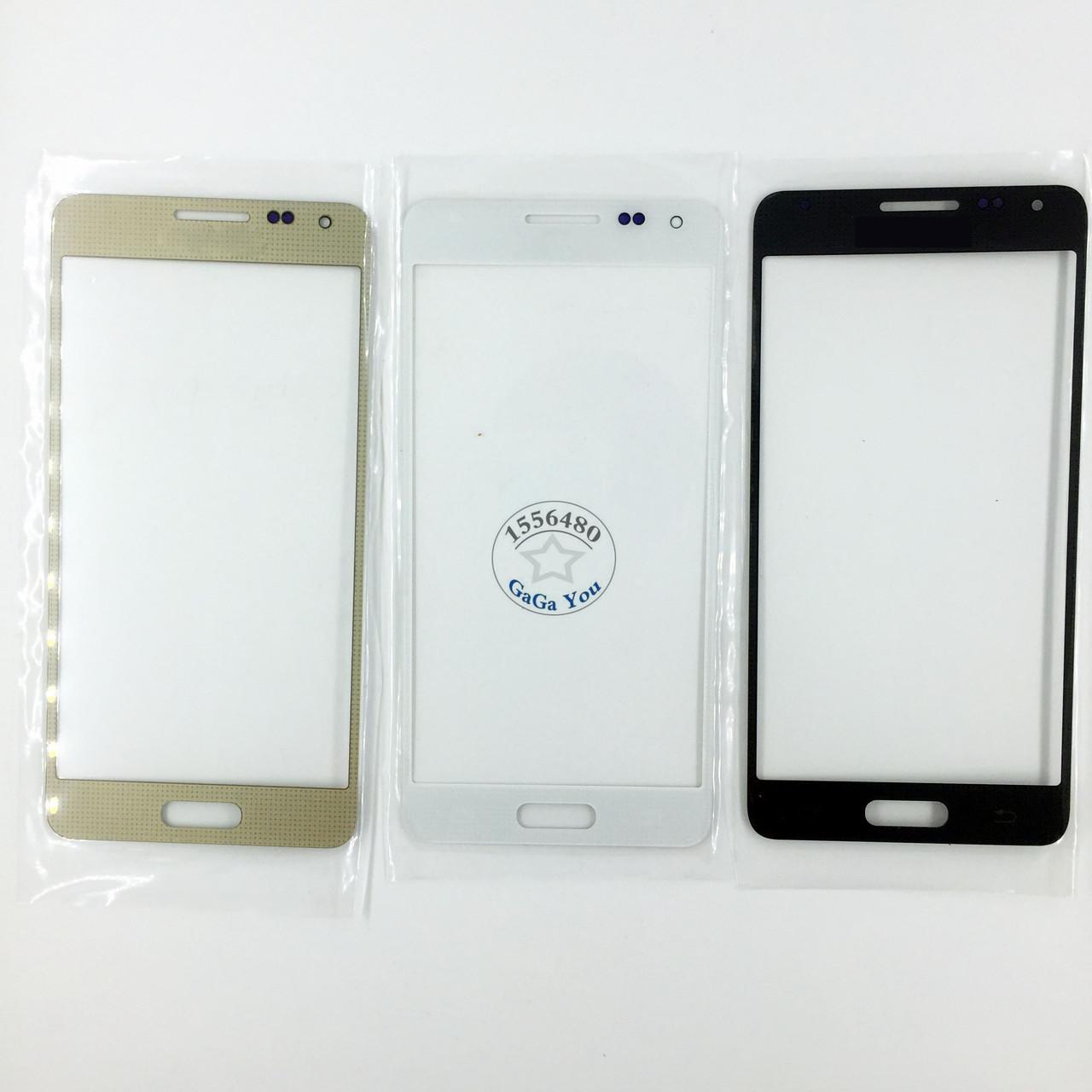 Стекло экрана Samsung G850/ G850F Galaxy Alfa серое