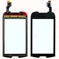 Сенсор (Touch screen) Samsung i5800 черный оригинал