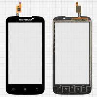 Сенсорный экран для мобильного телефона Lenovo A516, черный