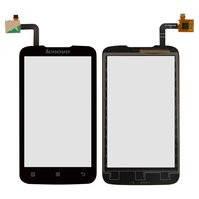 Сенсорный экран для мобильного телефона Lenovo A316i, черный