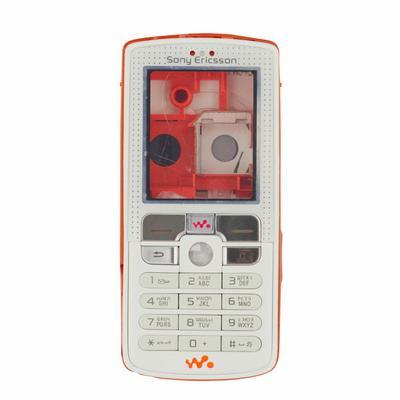 Корпус ААА SonyEricsson W800 (оранжевый с белым)+русская клавиатура