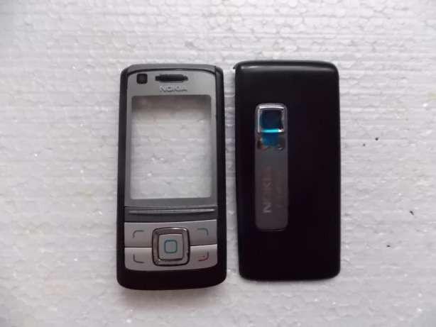 Корпус ААА Nokia 6280 (чёрный)+русская клавиатура
