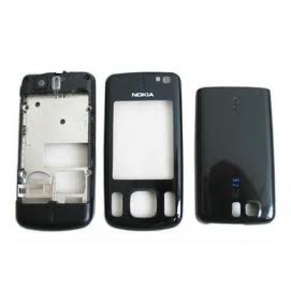 Корпус ААА Nokia 6600sl (чёрный)+русская клавиатура
